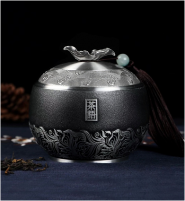 茶语-茶叶罐