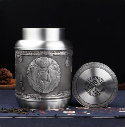 一团和气-茶叶罐