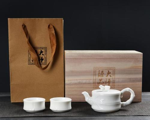 茶具套装-汉唐金瓷(一叶知春)