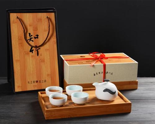 茶具套装-雪花釉企鹅壶-(打线)