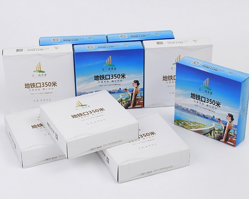 包装盒— 银行印刷纸盒