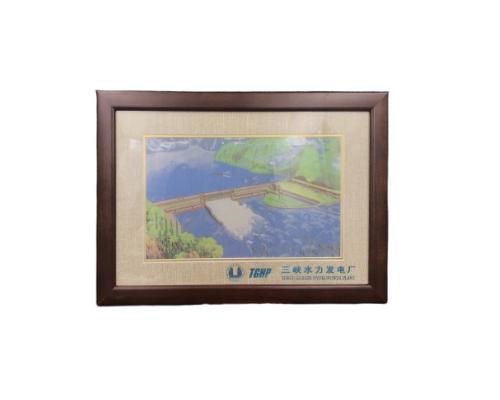 三峡水利发电厂蜀锦图
